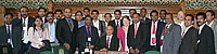 Forum members with Mr Virendra Sharma MP at the House of Commons - July 20, 2010.
